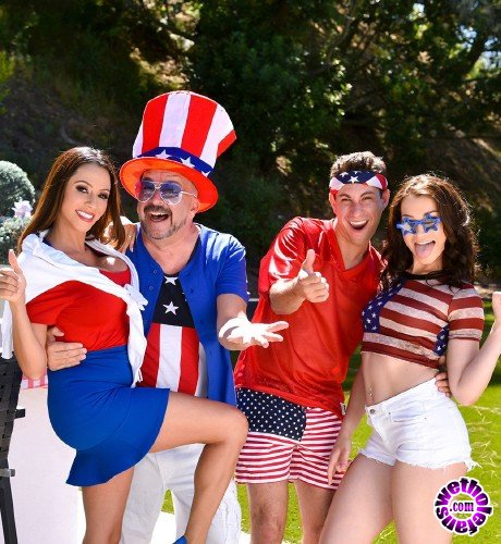 FamilyStrokes - Ariella Ferrera, Jennifer Jacobs - Family Fourth of July (FullHD/2.30 GB)