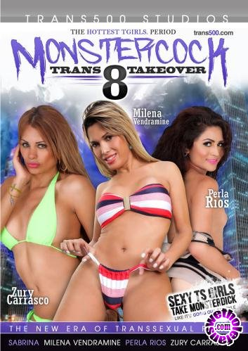 Monster Cock Trans Takeover 8 (2016/WEBRip/HD/1.76 GB)