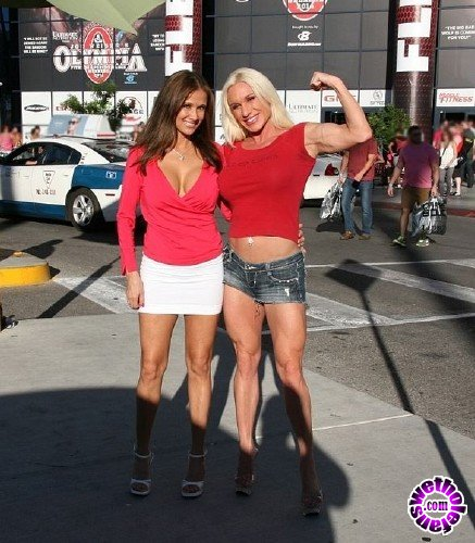 HotWifeRio - Hot Wife Rio - Muscle and clitness (FullHD/1080p/451 MB)