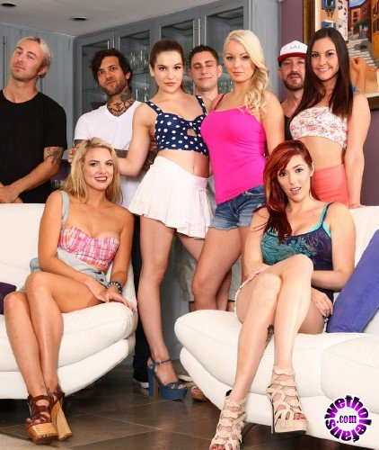 ThirdMovies/Ztod -  Kenzie Taylor, Kasey Warner, Keira Nicole, Small Hands, Lauren Phillips - Horny College Girls Getting Fucked By Hung Studs (FullHD/1080p/2.85 GB)