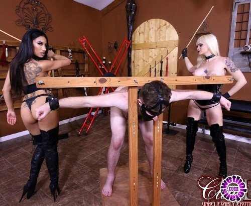 ClubDom -  Dahlia Rain, Goddess Tangent  - Caning An Ungrateful Slave (FullHD/1080p/588 MB)
