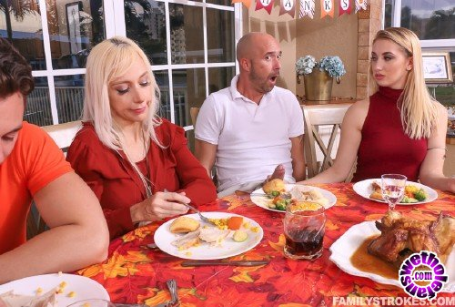 FamilyStrokes - Sierra Nicole - Spanksgiving With The Family (FullHD/1080p/3.06 GB)