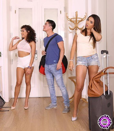 MikesApartment/RealityKings - Frida Sante, Melody Petite - Threesome Fiesta (FullHD/3.88 GB)