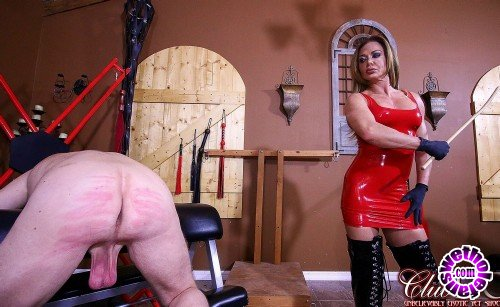 ClubDom - Nina Dolci - Turning Her Slaves Ass Red (FullHD/1080p/499 MB)