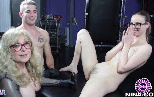 Nina - Jay Taylor, Nina Hartley - Nina Hartley Spoils Jay Taylor Some More (FullHD/1080p/1.02 GB)