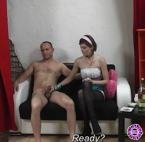 AgentWhore - Anna  - Teen whore gives handjob to an older guy (FullHD/1080p/548 MB)