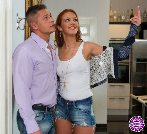 XXXShades/PornDoePremium - Aylin Diamond - Hot Romanian redhead Aylin Diamond gives Sabby a steamy reward fuck (FullHD/1080p/1.54 GB)
