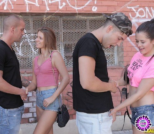 EuroSexParties/RealityKings - Cassie Right, Mary Kalisy, Alberto Blanco - Back Alley Beauties (HD/820MB)