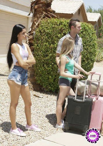 BrattySis - Angel Smalls, Katya Rodriguez - Road Trip Ep 1 (HD/1.29 GB)