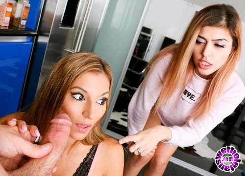 DadCrush - Audrey Royal, Moka Mora - Stepsisters Love To Share (HD/2.5GB)