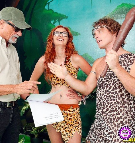FirstTimeAuditions/RealityKings - Kadence Marie, Robby Echo - Jungle Dick (HD/575MB)