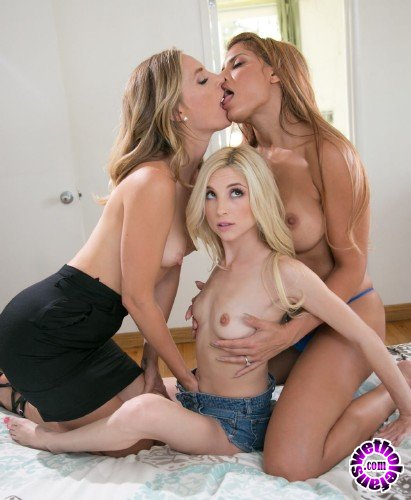 MommysGirl/GirlsWay - Mercedes Carrera, Piper Perri, Mona Wales - Mom Time (FullHD/2GB)
