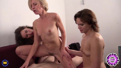 Mature - Artemia (44), Bony (34), Nikita V. (32) - Four Fuck As One (FullHD 1080p/1.26 GB)