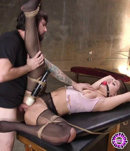 TheTrainingOfO/Kink - JoJo Kiss - Submissive Young Slut JoJo Kiss Endures Deep Anal Training (HD/1.67GB)