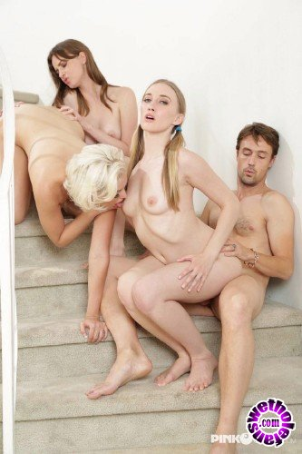 PinkoClub - Richies Brain, Jenna Ivory, Riley Reynolds, Jay Taylor    - Dirty girls looking for hard cock to cum (FullHD/1080p/859 MB)
