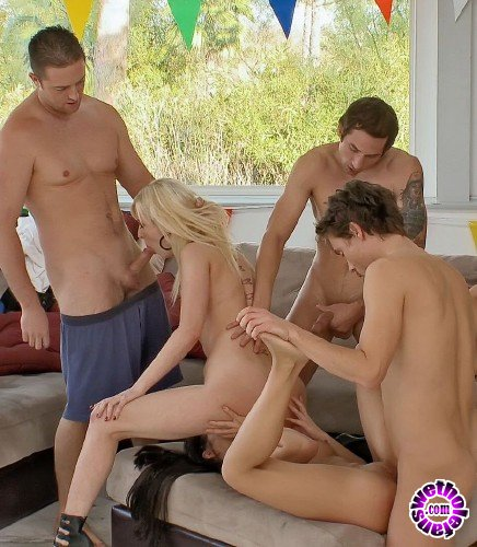 LustForAnal/21Sextury - Cherry Torn, Taylor Rosso, Johnny Nitro, Joey Brass, Richie Calhoun - The Sex Party (FullHD/3.1GB)
