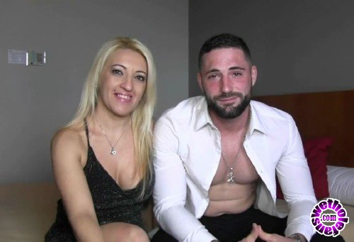 FAKings - Belinda Rubio - New year, new girl. Belinda, swinger blonde and a friend from our site meets new handsome jock Javier Duque (HD/720p/519 MB)