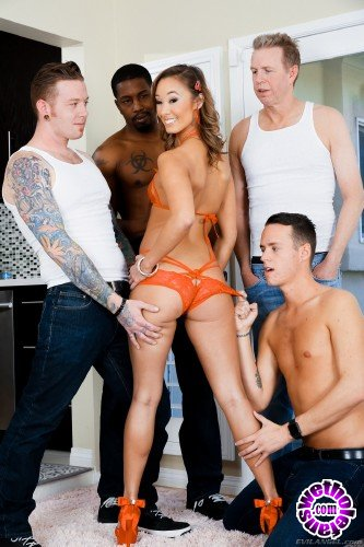 EvilAngel - Christy Love - Cute Asian Christies 1st DP Gangbang! (FullHD/3.3GB)