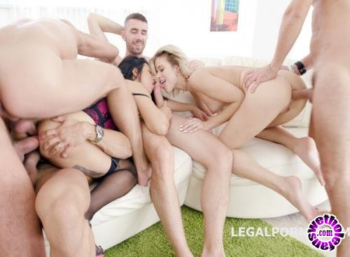 LegalPorno - Ria Sunn, Jureka Del Mar - Some Kind Of Monster With Ria Sunn And Jureka Del Mar TP, Tunnel View DP, Squirt To Mouth, Gapes, Prolapse Licking GIO454 (HD/720p/1.78 GB)