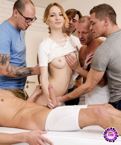 Doghousedigital - Belle Claire, George Uhl, Mark Zicha, Charles Deen, Thomas, Steve Q - 4 on 1 Creampie Gangbangs, Scene 1 (FullHD/1.8GB)