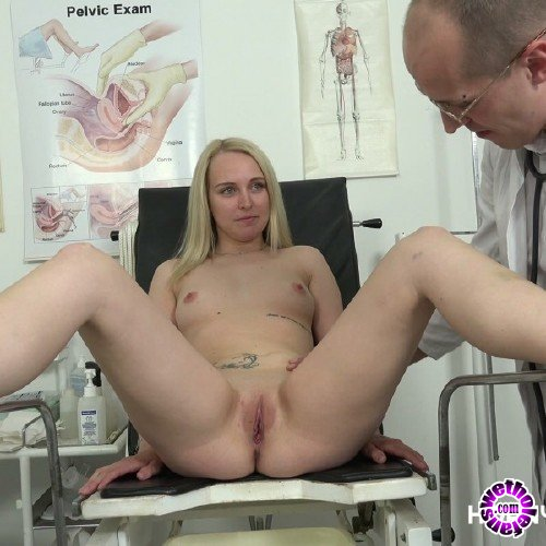 HornyDoctor/PornCZ - Amateurs - Gyno exam for hot blonde babe (4K/2160p/4.42 GB)