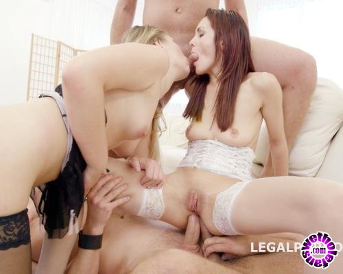LegalPorno - Dominica Phoenix, Selvaggia - Double Addicted 5 On 2 With Anal Fisting Dominica Phoenix And Selvaggia No Pussy, Balls Deep, DAP, Gapes, Swallow GIO458 (FullHD/1080p/4.69 GB)