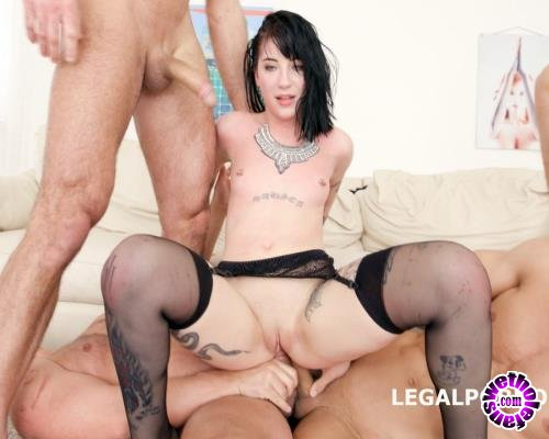 LegalPorno - Charlotte Sartre - 7 On 1 DAP Gangbang With Charlotte Sartre Balls Deep Anal And DAP, Big Gapes, Facial, Swallow GIO575 (HD/720p/1.96 GB)