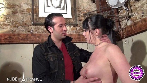 NudeInFrance - Savannah - Sexy brunette gets hard fucked (HD/720p/664 MB)