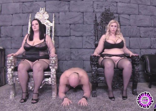 Pure-BBW - Jessica Lust, Lila Lovely - BBW Goddesses Get Pleasure From Their Slave (FullHD/1080p/1.63 GB)