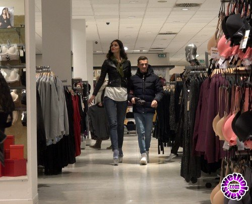 GiantFem - Milena - Giantess Shopping (4K/2160p/1.45 GB)
