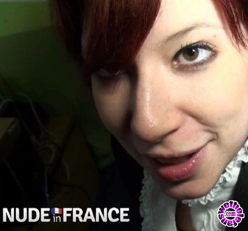 NudeInFrance - Pandora Doll - A real redhead slut student hard banged between two delevries (HD/720p/398 MB)
