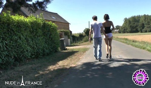 NudeInFrance - Lilou Sou - Anal outdoor fucking for Lilou (HD/720p/643 MB)
