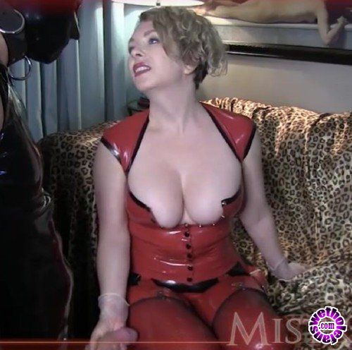 MistressT - Mistress T - Cum on own face with ass stretching (HD/720p/296 MB)