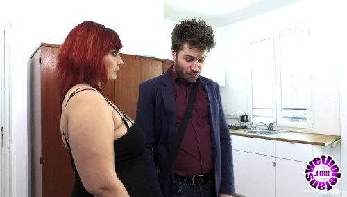 FrenchGonzo - Zora - An angry bbw girlfirend punishes her boyfriend for having failed his job interview and he gets spanked and submitted to all her desires (FullHD/1080p/1.08 GB)