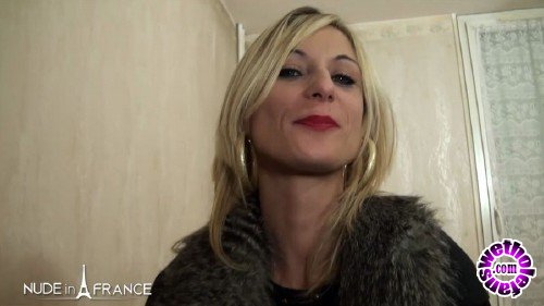 NudeInFrance - Cali Cruz - Cali sextape, blonde libertine, naughty and greedy (HD/720p/576 MB)