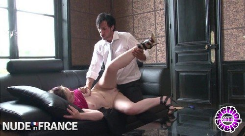 NudeInFrance - Marion Moon - Angry Taxi Driver Fucks a Rich German Girl to Teach Her a Lesson (HD/720p/513 MB)