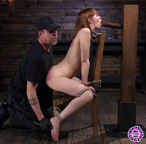 HogTied/Kink - Alexa Nova - Red Headed Rope Slut Gets Brutalized and Made to Cum (HD/720p/1.83 GB)