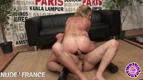 NudeInFrance - Cassandra Delamour - Parisian blonde strips down for casting call (HD/720p/531 MB)