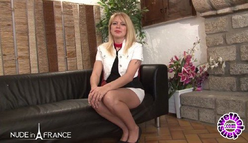 NudeInFrance - Venus Lova - Anal casting couch of a gorgeous blonde milf from Belgium (HD/720p/566 MB)