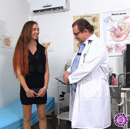 ExclusiveClub/FreakyDoctor - Ava - 23 years girls gyno exam (HD/720p/1.34 GB)