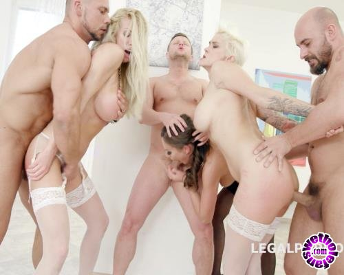 LegalPorno - Tina Kay, Mila Milan, Lara De Santis - Outnumbered Both Ways Part 1 With Tina Kay, Mila Milan, Lara De Santis 2 On 3 Domination, Big Toys, Balls Deep Anal GIO647 (FullHD/1080p/5.76 GB)
