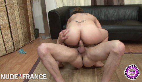 NudeInFrance - Leana - First time model gets huge cock on camera (HD/720p/498 MB)