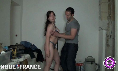 NudeInFrance - Daphnee Lecerf - Father Brings Home Young Teen For Sons to Fuck (HD/720p/591 MB)