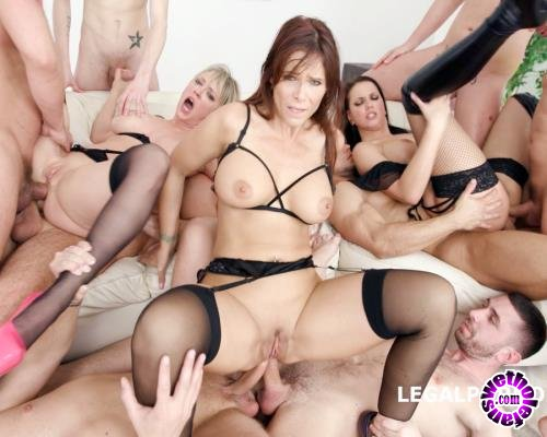 LegalPorno - Syren De Mer, Jolee Love, Dee Williams - The Milf Dominance Syren De Mer Jolee Love Dee Williams Part 2 Triple DAP, Gapes, ATOGM GIO639 (FullHD/1080p/5.55 GB)
