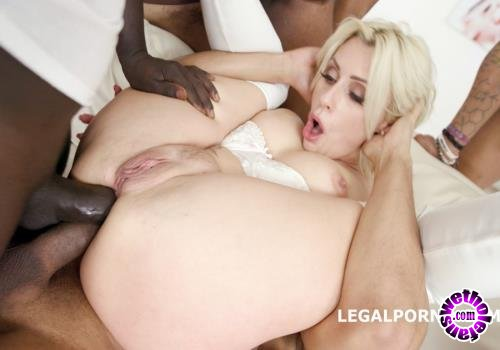 LegalPorno - Brittany Bardot - Waka Waka! Blacks Are Coming! Brittany Bardot 5 On 1 BBC With Balls Deep Anal, Gapes, Squirt, Facial GIO (HD/720p/2.12 GB)