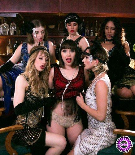 GirlsWay - Jenna Sativa, Eliza Jane, Ivy Wolfe - A Flapper Girl Story (FullHD/1.97 GB)