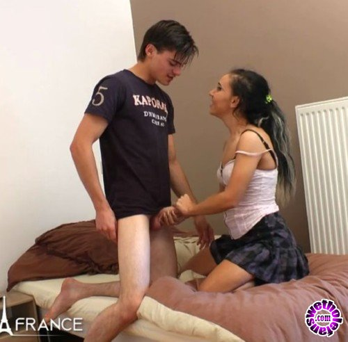 NudeInFrance - Gwenanie Zolie - Anal initiation for our student teen Gwenanie (HD/720p/458 MB)