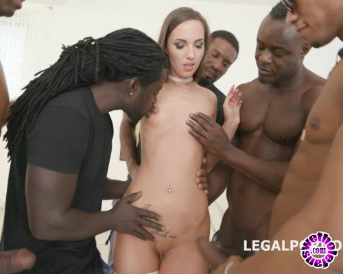 LegalPorno - Kristy Black - Waka Waka, Blacks Are Coming! Kristy Black Gets 5 BBC With Balls Deep Anal, DAP, Big Gapes, Facial GIO649 (FullHD/1080p/4.34 GB)