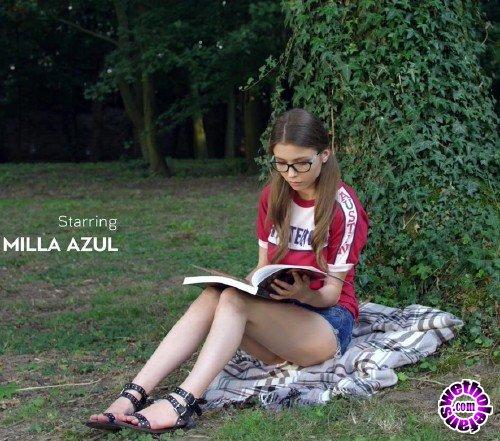 WowGirls - Milla Azul - Horny Student (FullHD/1080p/450 MB)