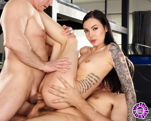 LegalPorno - Marley Brinx - Marley Brinx Gets Wrecked By Two Cocks At The Same Time AB012 (UltraHD/4K/7.75 GB)